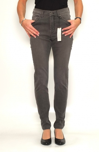 Angels Jeans Damenjeans Skinny Studs grey brown wash 218 A
